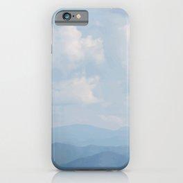 Blue Haze Smoky Mountains iPhone Case
