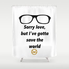 Kingsman Shower Curtain