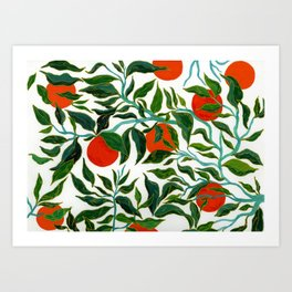 Spring series no.3 Art Print