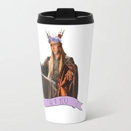 Thranduil - Flower Crown Travel Mug