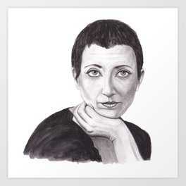 Helene Cixous Art Print