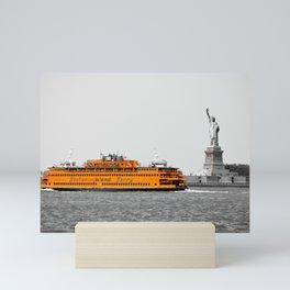 Staten Island Ferry Mini Art Print