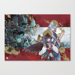 yokai parade Canvas Print