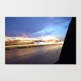 Speedify Canvas Print