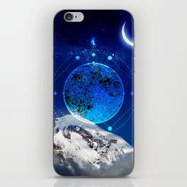 Mystic Moon #4 iPhone Skin
