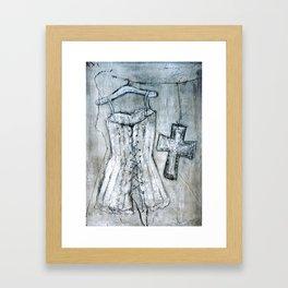 corsage Framed Art Print