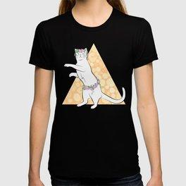 Flower Festival Cat T-shirt