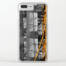 Ancient scaffold 2 Clear iPhone Case