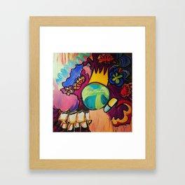 World Chaos Framed Art Print