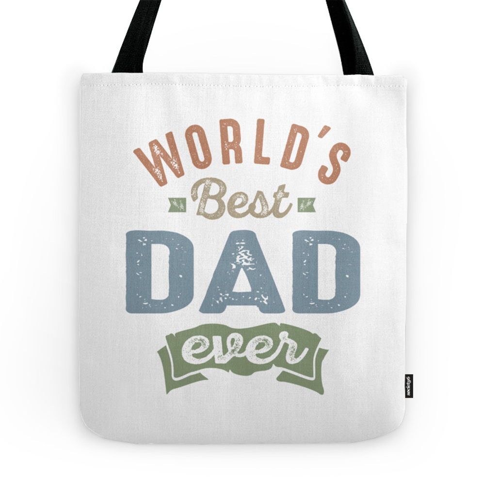World's Best Dad Tote Purse by cidolopez (TBG7546641) photo