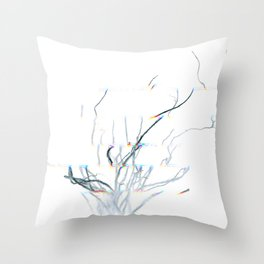 Roots of time Throw Pillow