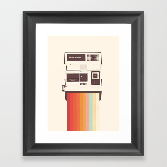 Instant Camera Rainbow by speakerine