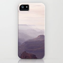 Misty Canyon 2 iPhone Case