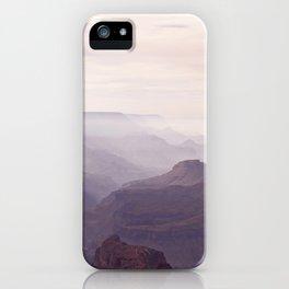 Misty Canyon iPhone Case