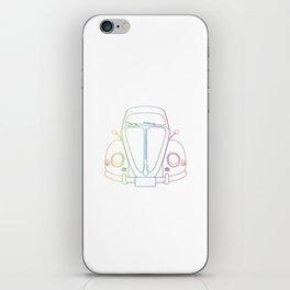 Rainbow Beetle iPhone Skin