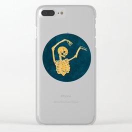 Danse Macabre 2 Clear iPhone Case