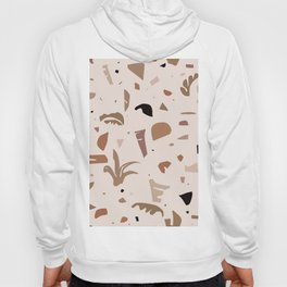 Modern Landscape / Abstract Neutral Shapes Hoody