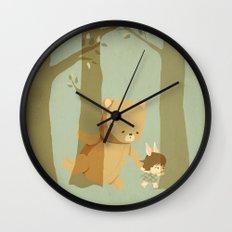 Oso Follow Me Wall Clock