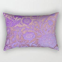 Wiiliam Morris revamped, art nouveau pattern Rectangular Pillow