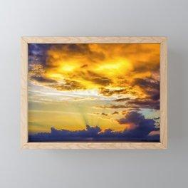 Dragon's breath Framed Mini Art Print