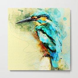 Bird GB Metal Print