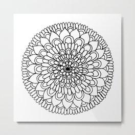 Equanimity / Petals Metal Print