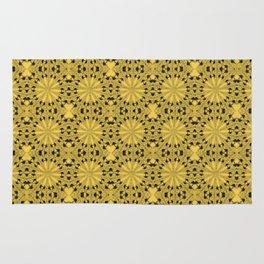 Primrose Yellow Star Rug