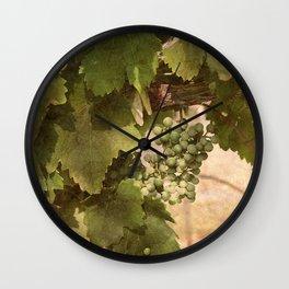 Lost Oak Vineyard Wall Clock