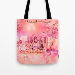 Paradise Pastel Tote Bag