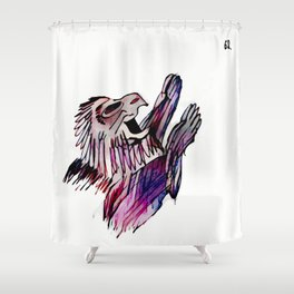 Los Caprichos ~ 62 ~ Who Would Have Thought It Shower Curtain