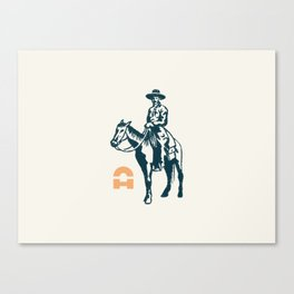 Texan Canvas Print