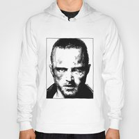 jesse pinkman Hoodies featuring Breaking Bad - Jesse Pinkman by Aaron Campbell
