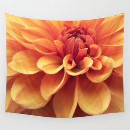 Dahlia design Wall Tapestry