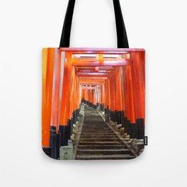 Fushimi Inari Gates Tote Bag