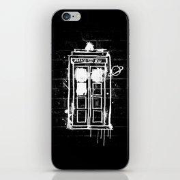 Time Lord Graffiti  iPhone Skin