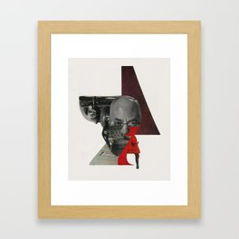 747 Framed Art Print