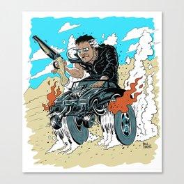 Mad Max Fink Canvas Print