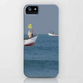 Fishing Boats North Goa iPhone Case