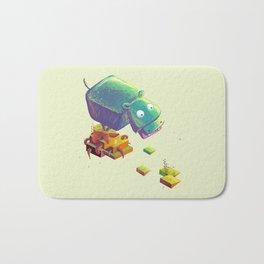Lil Cube Hippo Bath Mat