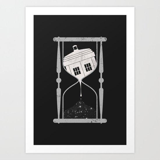 Spacetime Art Print