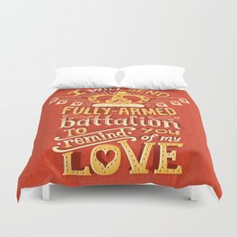 Battalion Duvet Cover