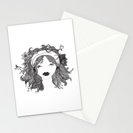 Mother Earth White Stationery Cards