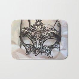 Carnival mask Bath Mat