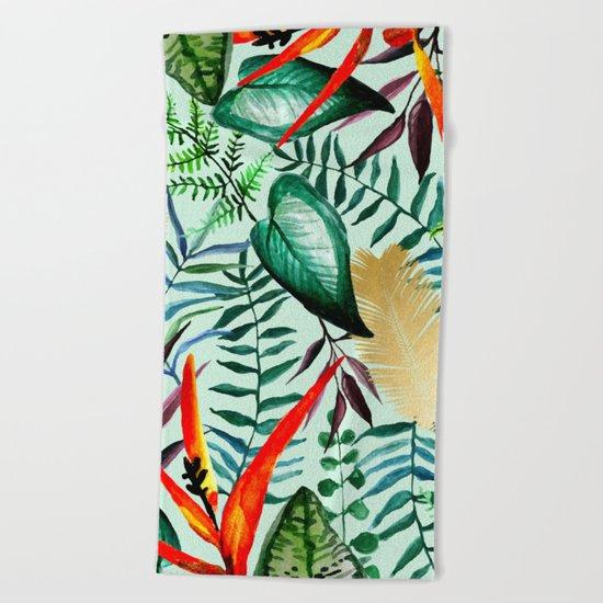 Paradise #society6 #decor #buyart Beach Towel