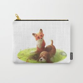Tod and Tobby Carry-All Pouch