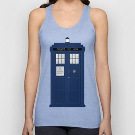 Doctor Who's Tardis Unisex Tank Top
