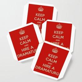 Hire a Dramaturg Coaster