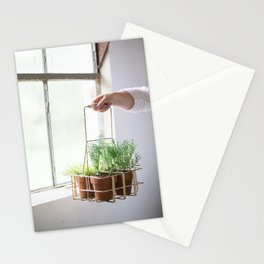 Potted Herbs Stationery Cards