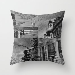 Sherbrooke delirium Throw Pillow