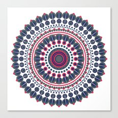 Colorful Mandala (Mandela) Canvas Print